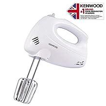 Kenwood Hand Mixer 250W, HM330, White, 1 Year Brand Warranty