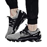 Quaan Herren Beiläufig Gehen Sneaker Unterhose auf Klinge Draussen Sport Schuhe Mesh Laufen Schuhe Gemütlich Sohle, Einzig, alleinig Zu Rennen Sport Fußball Basketball Wandern Schuhe