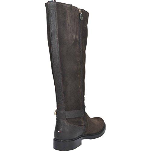 Stivali per le donne, colore Marrone , marca TOMMY HILFIGER, modello Stivali Per Le Donne TOMMY HILFIGER HOLLY 11C Marrone Marrone