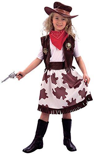 Imagen de disfraz de niña de vaquera. 3  5 años
