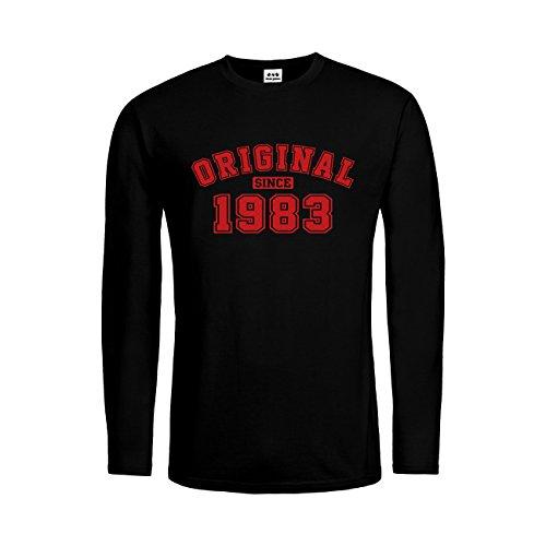 dress-puntos Herren Langarm T-Shirt Original since 1983 20drpt15-mtls01280-18 -