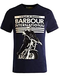 Barbour Steve Mcqueen Union Ride tee Navy-L 6a842a1e91912
