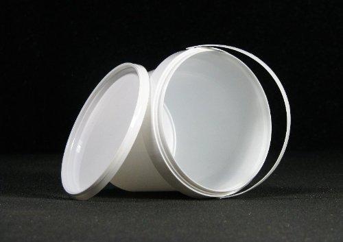 15-stuck-kunststoffeimer-ppmit-henkel-weiss-und-deckel-1-liter-lebensmittelrechtlich-zugelassen-neuw