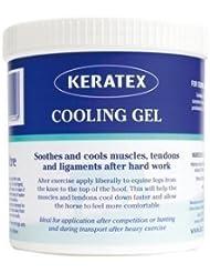 Gel de enfriamiento Keratex - enfría tus caballos músculos, tendones y ligamentos - 1 litro tina