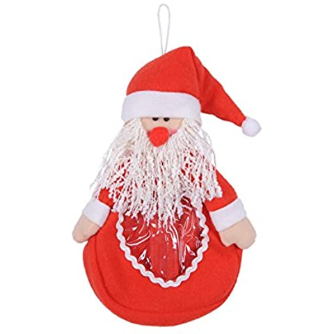 Molie 1pcs Santa Claus caramelo bolsas Navidad decoraciones infantiles niños regalos bolsa de regalos