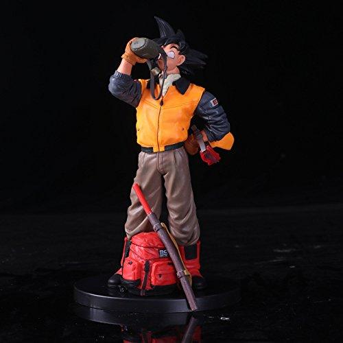 Dragon Ball Z Goku Jacken Life Travel Szenen Ver.Actionfigur Gohan Vater Super Saiyajin Schokolade DBZ Modell 20cm -