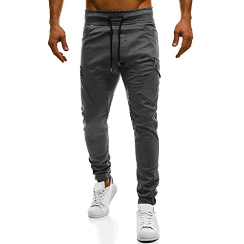 MOIKA Herren-Hosen Slim Fit, Chino Hose Herren Freizeithose Jogginghose | Herren-Hosen Sport Style| Stoffhose für Männer Jogging Hose Lang | Jogger Jeans Pants