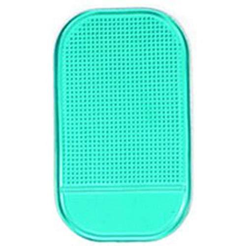 Ogquaton Auto-Auflage-rutschfeste klebrige Anti-Dia-Schlag-Handy-Einfassungs-Halter-Matte Auto-Armaturenbrett-klebrige Auflage-klebende Matte für Handy/elektronische Geräte/GPS, 1PC grünes langl