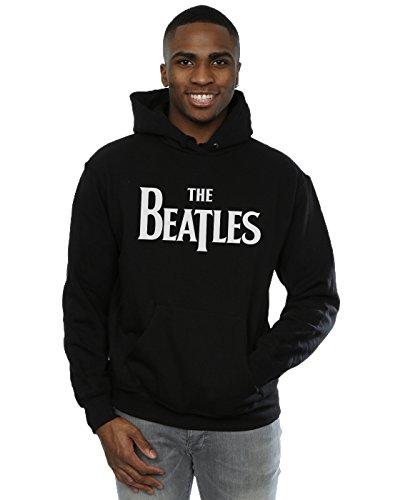 the-beatles-homme-drop-t-logo-sweat-a-capuche-xxx-large-noir