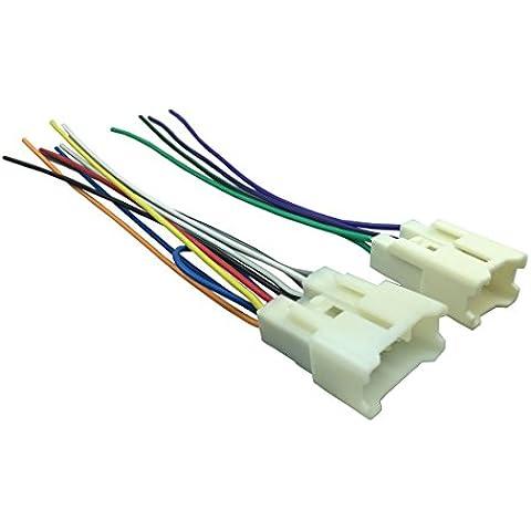 dkmus per Toyota 1987a auto radio cablaggio cavo adattatore stereo Connettore adattatore Plug