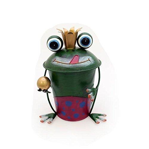 gall-zick-poubelle-de-table-grenouille-avec-couronne-et-boule