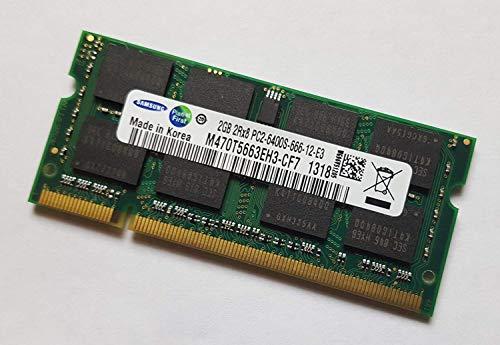 Hynix Chip (2GB (1x 2GB) DDR2 800MHz (PC2 6400S) SO Dimm Notebook Laptop Arbeitsspeicher RAM Memory Samsung Hynix Micron)