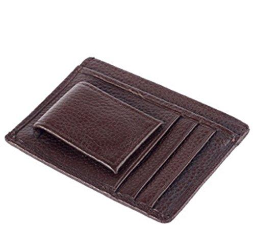 (Jahr Ende Räumungsverkauf-valentoria ® 2016 Herren Portemonnaie echt Leder Geld Clip Geld für Cash Fashion Designer-Brieftasche für Cards Dad 's gifts)