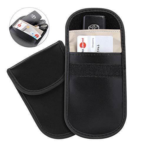 be79de1bd9a9 Silverback Keyless Go Schutz Autoschlüssel RFID Schutzhülle -  Schlüsseletuie RFID Blocker Schutz - Auto Schlüssel Tasche