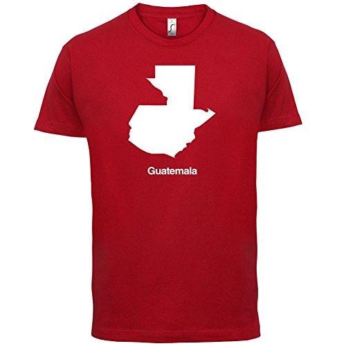 Guatemala Silhouette - Herren T-Shirt - 13 Farben Rot