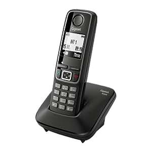 Gigaset A420 Téléphones sans Fil Siemens Ecran Noir