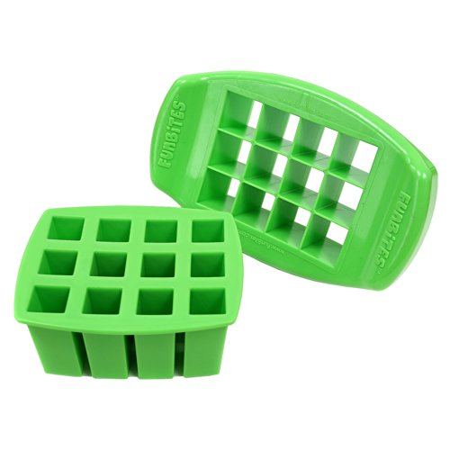 FunBites Shaped Food Cutter, Green Square by FunBites -