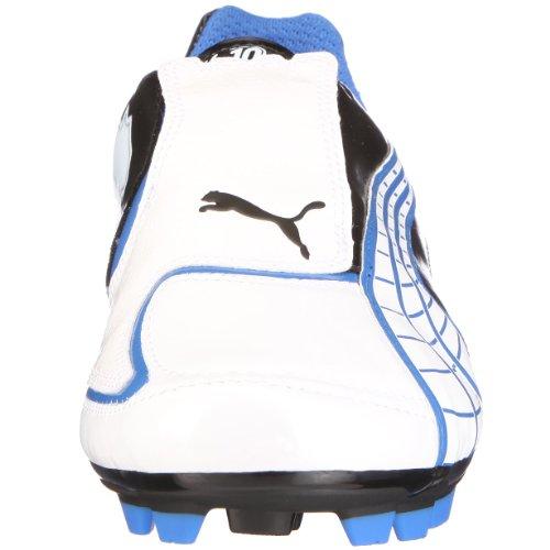 Puma 10194605V4.10i FG, Uomo Scarpe Sportive–Calcio Weiss (white pearl-black-puma royal)