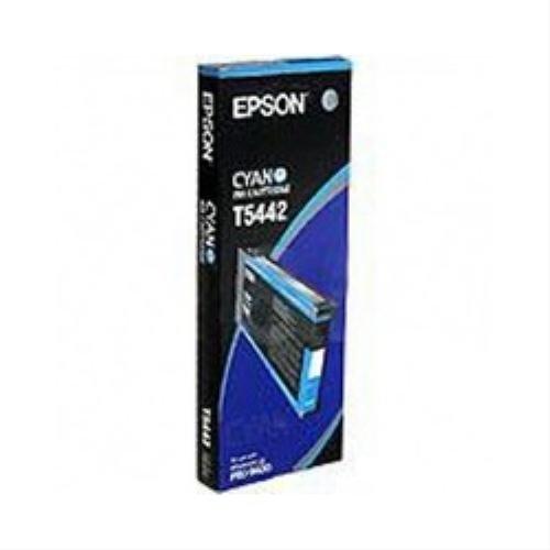 Epson Color Proofer 7600 - Original Epson / C13T544200 / T5442 / Stylus Pro4000 Tinte Cyan - 220 ml -