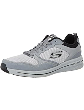 Skechers Herren Qtr Overlay Lace Up W/Air-Coo Outdoor Fitnessschuhe
