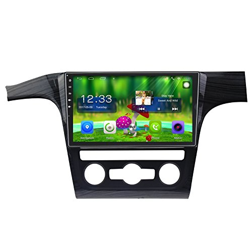 TOPNAVI 10.1 Inch Android 6.0 in Dash Car GPS Navigation for VW Passat 2011 2012 2013 with canbuswith Canbus Car Full Touch Screen CAM IN Car Stereo Player Radio Wifi Bluetooth Carplay Octa Core Monitor