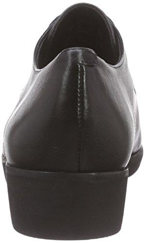 Clarks Cressida Grace, Derby femme Noir (Black Leather)