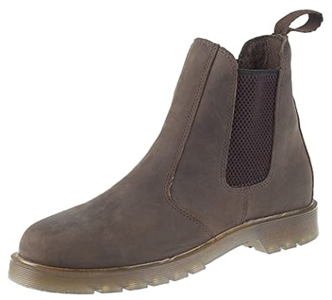 Grafters , Bottes_Chelsea homme - Marron - Waxy Brown, 11 UK