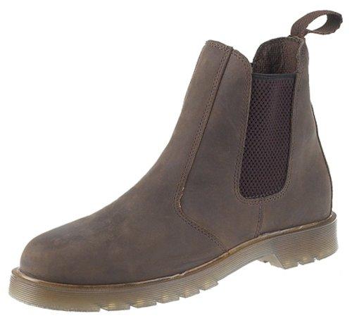 Grafters Herren Chelsea-Boots Waxy Brown