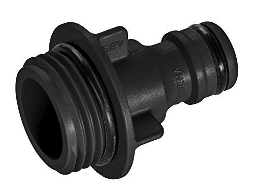 GARDENA Regner-Anschlussstück: Schlauchanschluss für Rasensprenger, Ersatzteil für GARDENA Sprinkler/Viereckregner, Original GARDENA System (5304-20) (Rasen-teile)