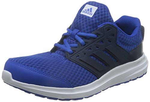 adidas Galaxy 3 M, Chaussures de Course Homme Bleu (Blue/collegiate Navy/ftwr White)