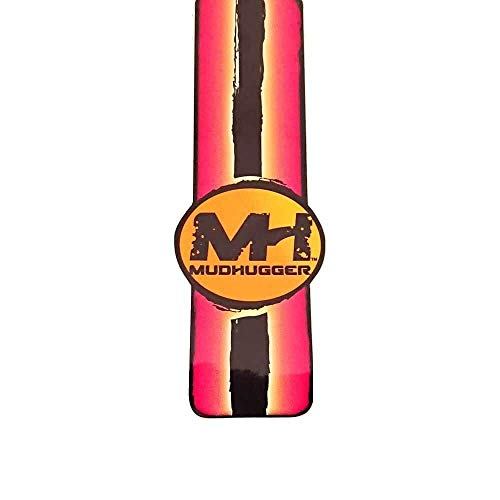 Mudhugger Shorty Front MTB Mudguard and 2019 Coloured Stripe Decal Bundle
