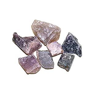 Edelstein Fluorit dunkel Rohsteine 100 g