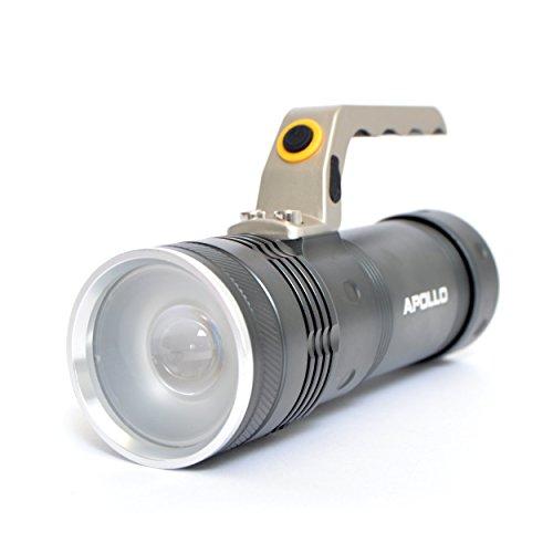 apollo-led-taschenlampe-torch-police-pro-1200-handleuchte-lange-17cm-anthrazitfarbene-handlampe-inkl