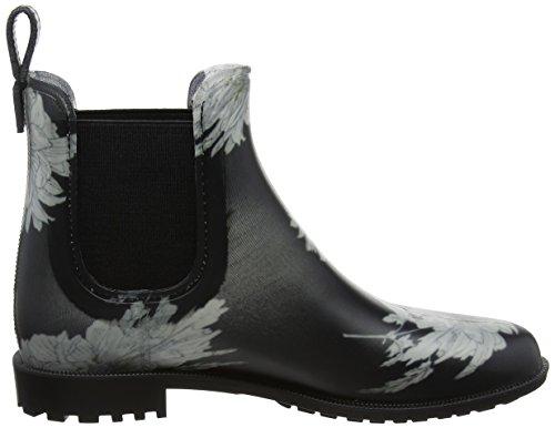 Tom Joule - Rockingham, Stivali di gomma Donna Nero (Black Floral)