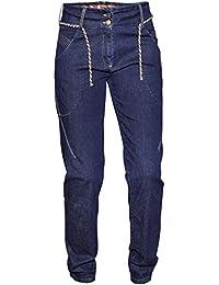 Targa W 'S Pantalón de escalada Denim L, color Denim, tamaño extra-small