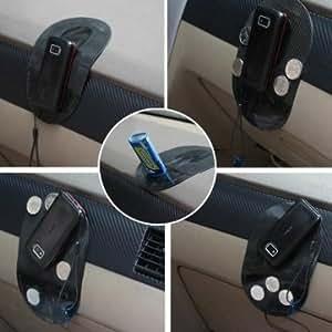 Haute Qualité semi antidérapant transparent anti-vibration voiture Tapis de Cusion - Blue