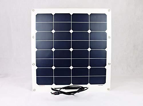 Sunline Solartechnik GmbH Flexibles Solarmodul Solarpanel 50Watt 12Volt Mono semi Flex 50W