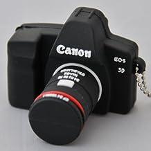 USB 16gb goma cámara de fotos tipo reflex