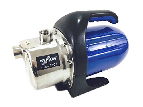 Preisvergleich Produktbild Neptun Classic NCGP-E 110 Classic Hauswasserautomat NCHA-E INOX 1100 W / Wasserpumpe / 4, 3 bar / 4000 l / h Fördermenge / Ansaughöhe bis 8 m / Förderhöhe 43 Meter,  70 Stück