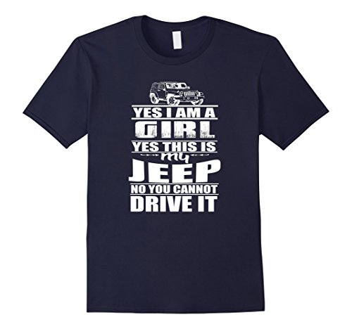 jeep-girl-t-shirt-yes-i-am-a-girl-herren-grosse-3xl-navy