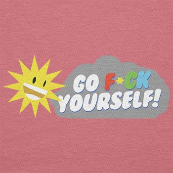 TEXLAB - Go F*ck Yourself - Damen T-Shirt Pink