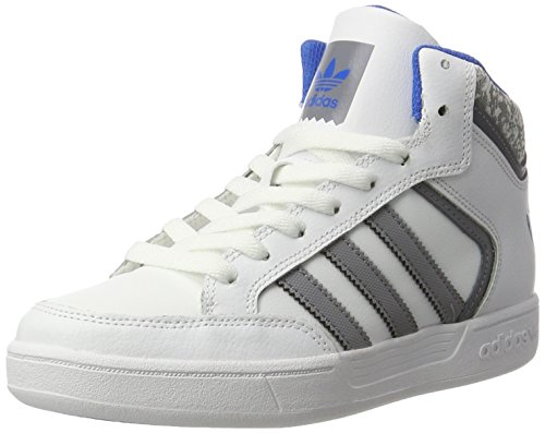 adidas Varial Mid, Montantes Homme Blanc (Ftwr White/Grey/Bluebird)