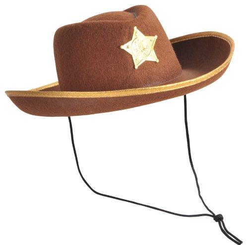 Happy Boys - Sombrero para disfraz de vaquero (cowboy) para niño