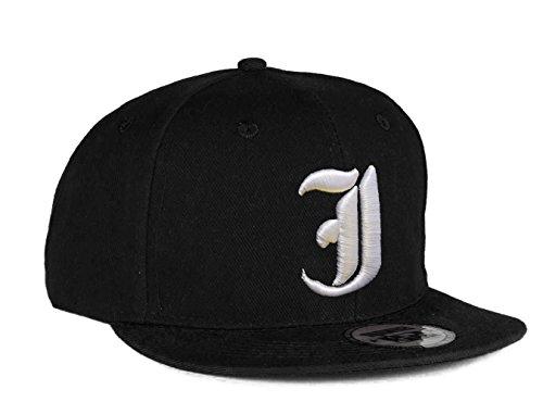 Imagen de 4sold  gorro con 3d bordado letra  de béisbol hip hop  sombrero gorro de invierno negro j talla única