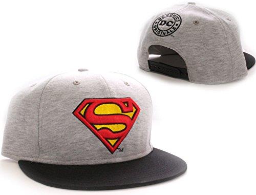 superman-cap-original-logo-mutze-the-man-of-steel-dc-comics-snapback-schirmmutze-wide-bill-grau