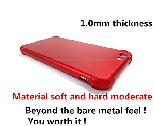 "Coque iPhone 6 6S,JEPER® 360° Protection Intégrale TPU+PC Quatre Coins Airbag Ultra Mince Anti-Choc Anti-Scratch Etui Housse pour Telephone Apple iPhone 6S Case 4.7"" Rose Or"