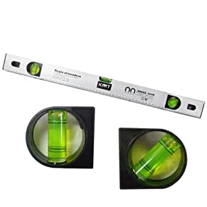 COMPTEUR SPIRIT LEVEL 3 BULLES 60CM ALUMINIUM CONSTRUCTION AIMANT 114335