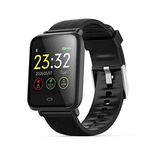 UTHDELD Smartwatch Q9 Presión Arterial Monitor Ritmo