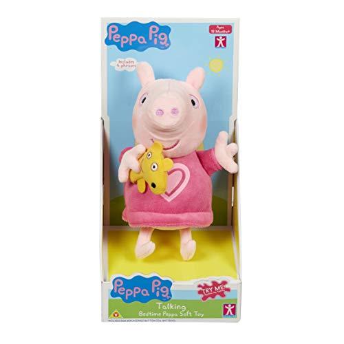 "Peppa Pig - Bedtime Talking Electronic - 7"""