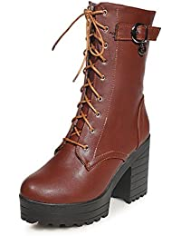 AdeeSu - Zapatillas altas mujer